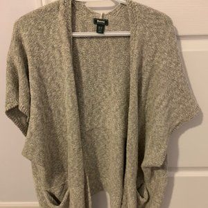 Roots Heather grey sweater tunic top